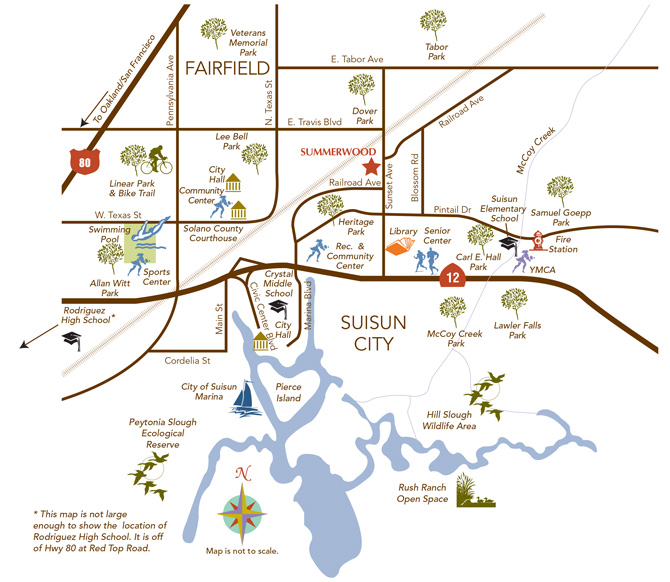More information and useful links about Suisun City CA