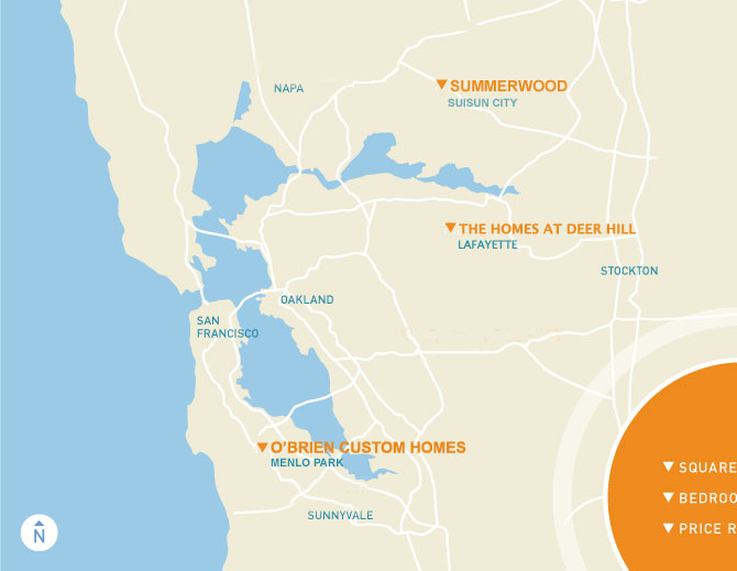 New Homes in the Bay Area